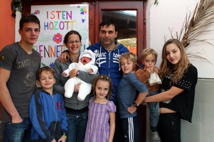 Budavári Andor család