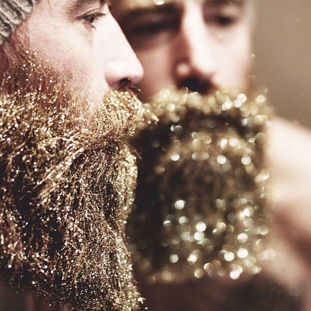 csillámló szakáll
