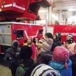 Tűzoltókat látogattak az ovisok Pécsett