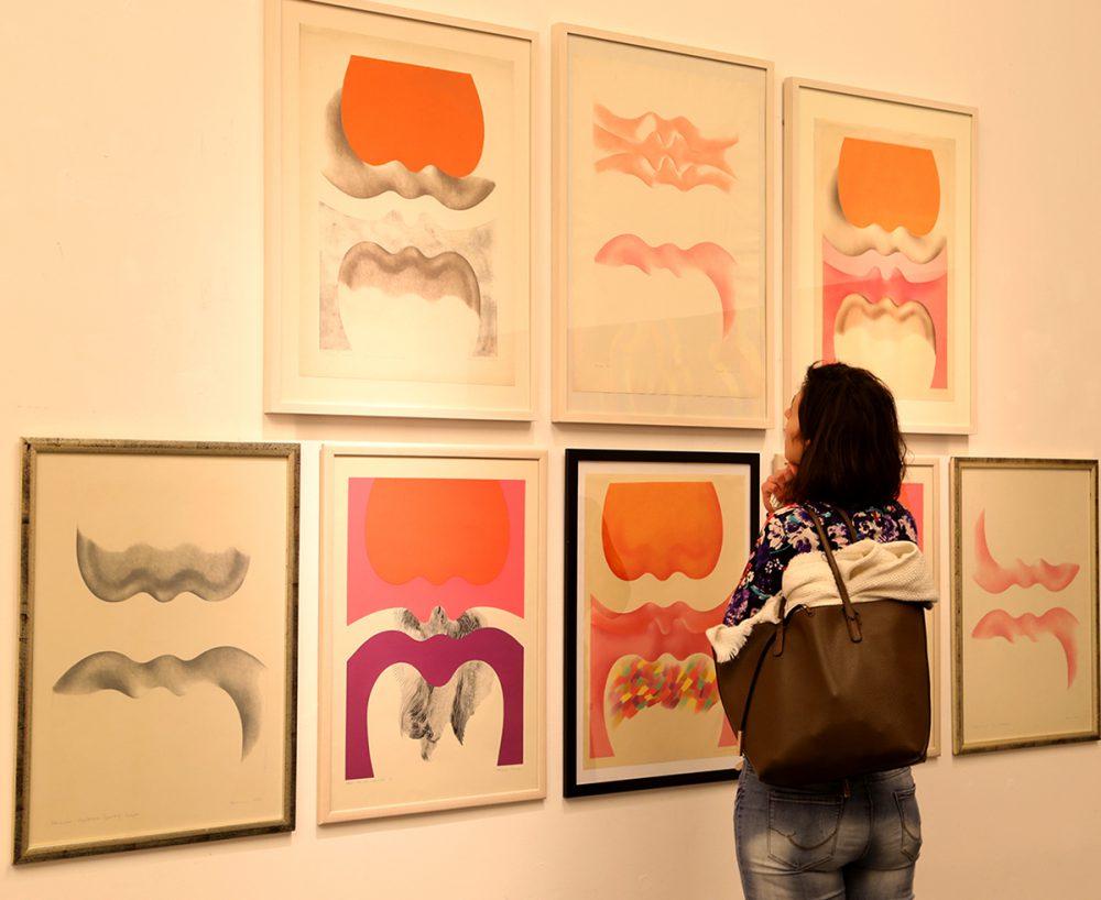 Egyedi látvány a galériában