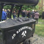 Pécs halott bányászaira emlékezett