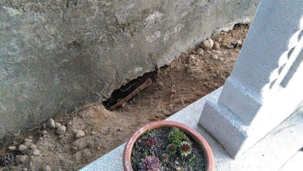 A lyukat nem tudni, hogy mi ásta