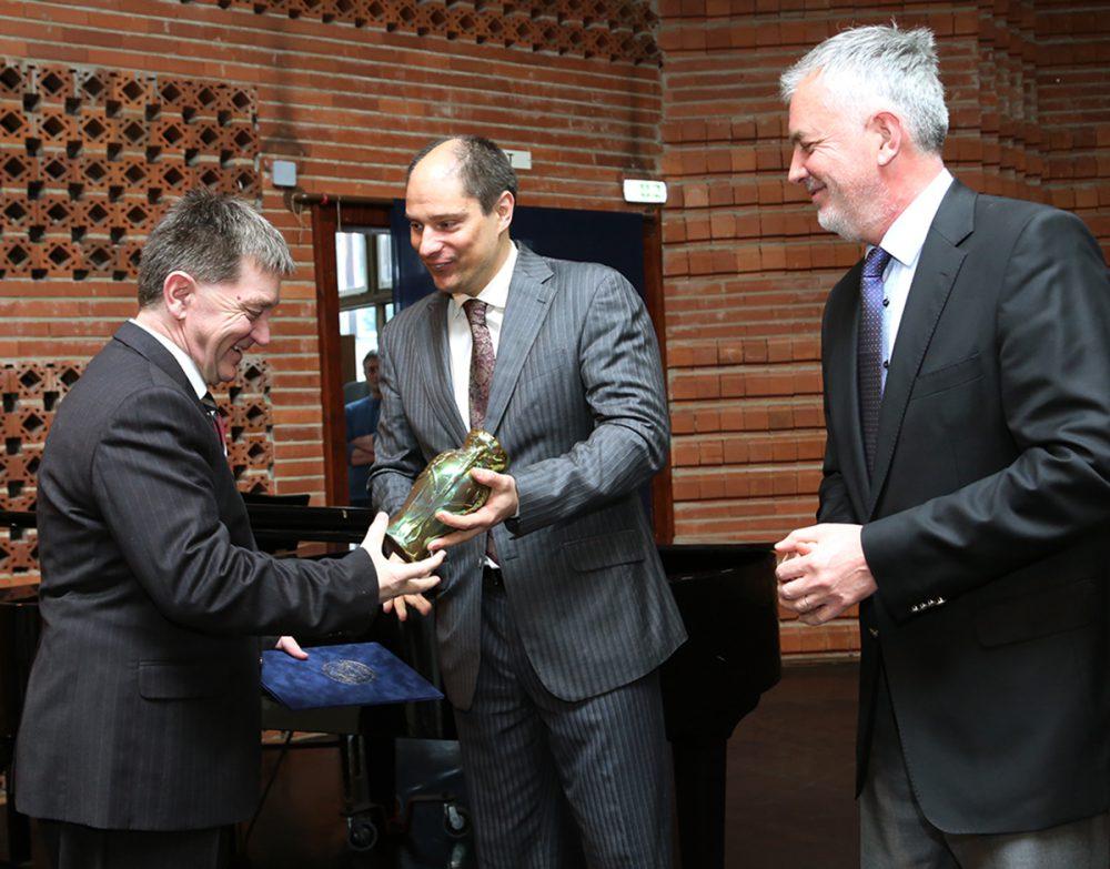 Komor István átveszi a Victor Vasarely-díjat