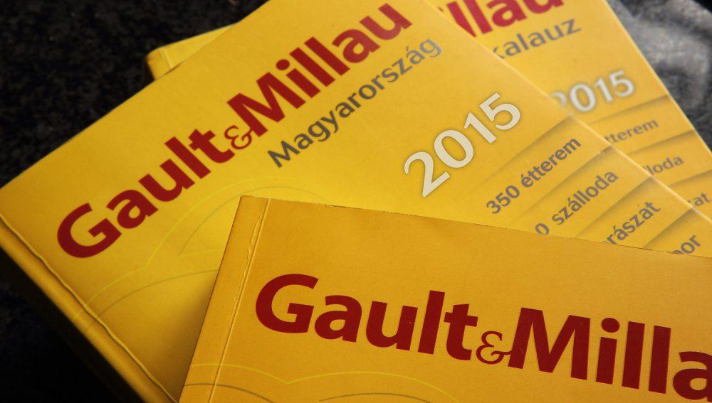 A tavalyi Gault Millau kötetek