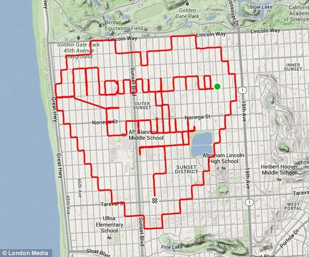 rajzolj a térképre futás