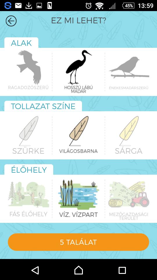 Könnyebben tudjuk meghatározni az ismeretlen madarakat