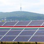 Átadták a pécsi napelemparkot