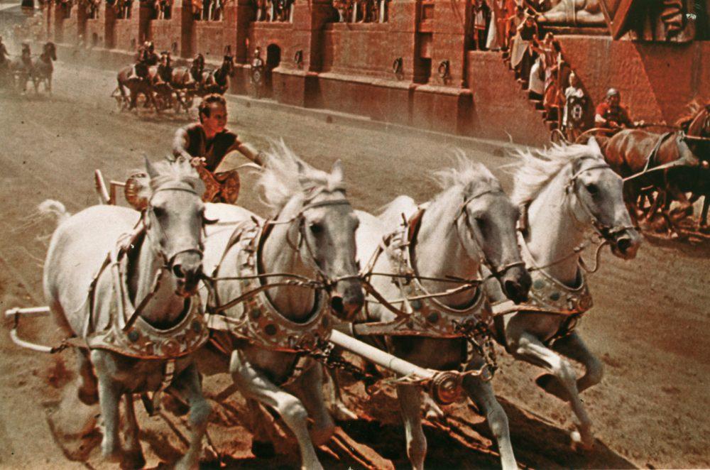 Jön a mozikba a Ben Hur, és a legendás fogatversenye