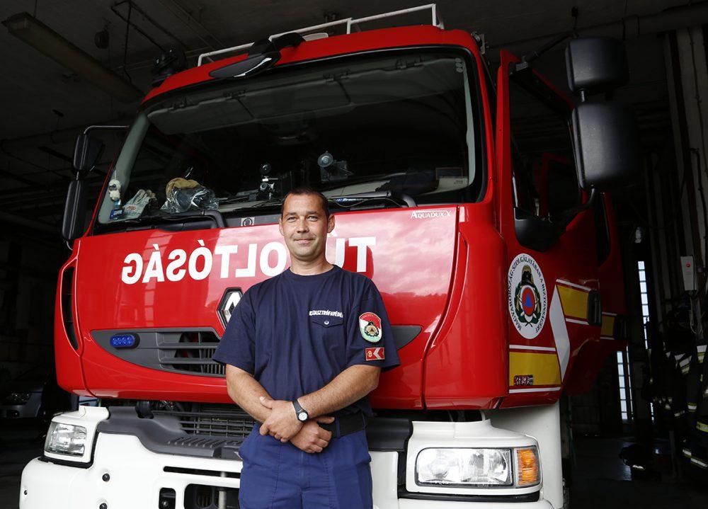 Az élete a tűzoltóság