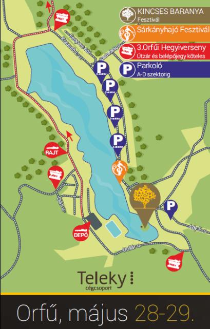 kincses baranya térkép
