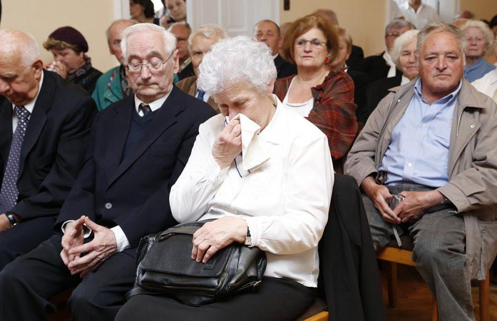 Pécsi Géza felesége, Panni néni meghatódva ülte végig a műsort
