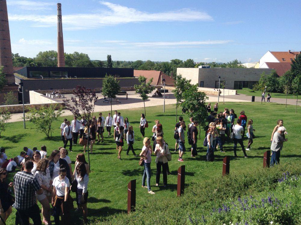 Sok-sok diák jött el a megemlékezésre