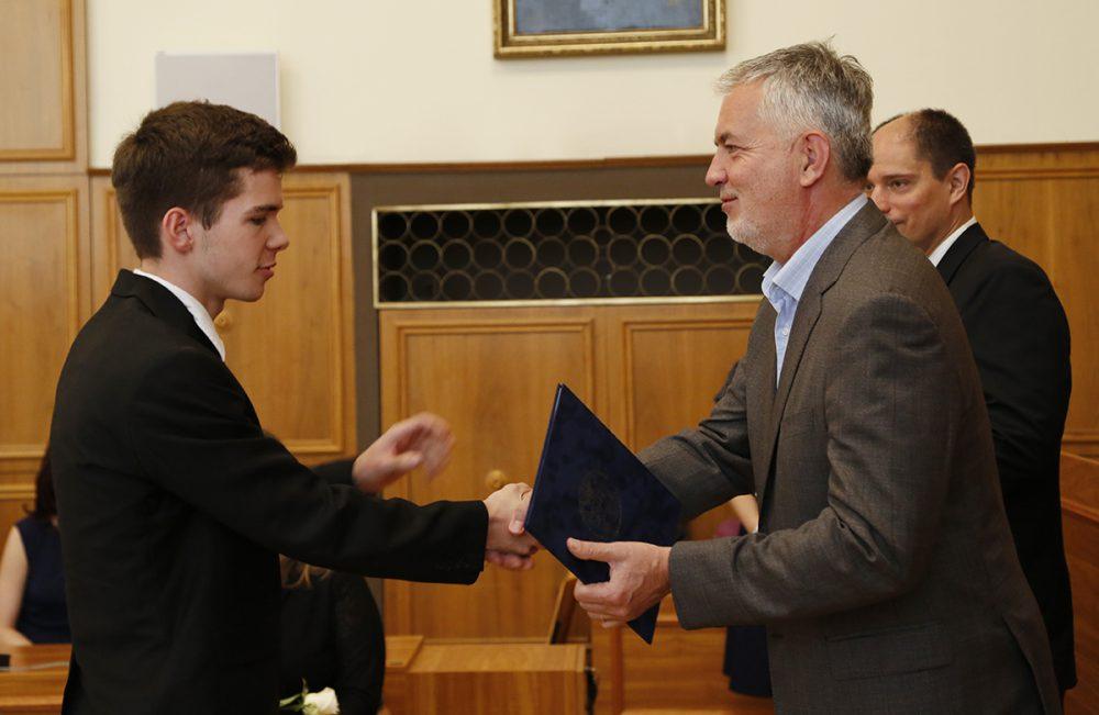 Rádler Máté az egyetemre teszi félre az ösztöndíjat