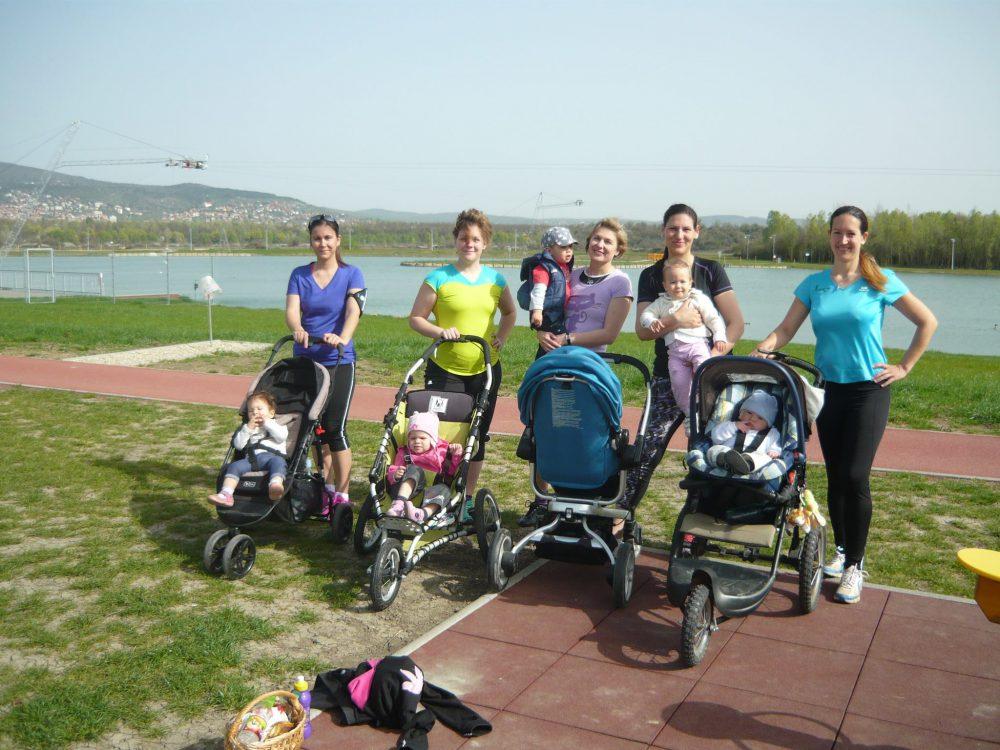 Még az anyukák is futásnak erednek
