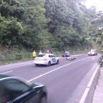 Újabb motoros baleset a mecseki szerpentinen