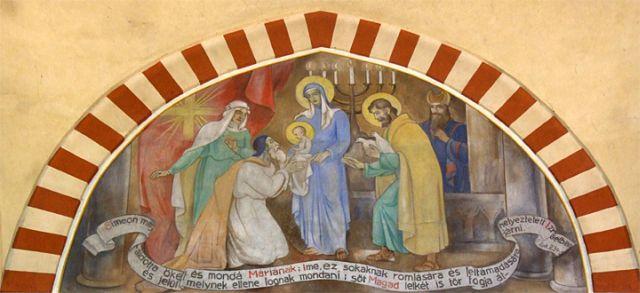 A Dzsámi freskója