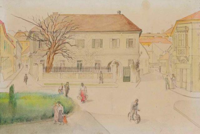A Széchenyi tér, ahogy nem láthattuk - Gebauer képe