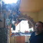 Villámcsapás pusztította el az ötfős család otthonát
