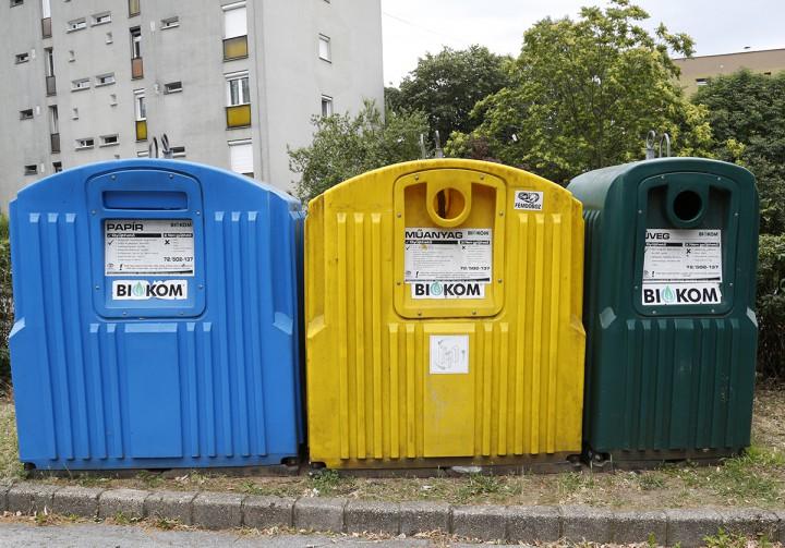 szelektív, kuka, hulladékgyűjtő, hl03