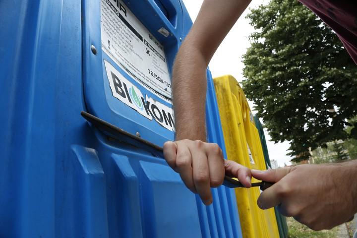 szelektív, kuka, hulladékgyűjtő, rongálás, hl01