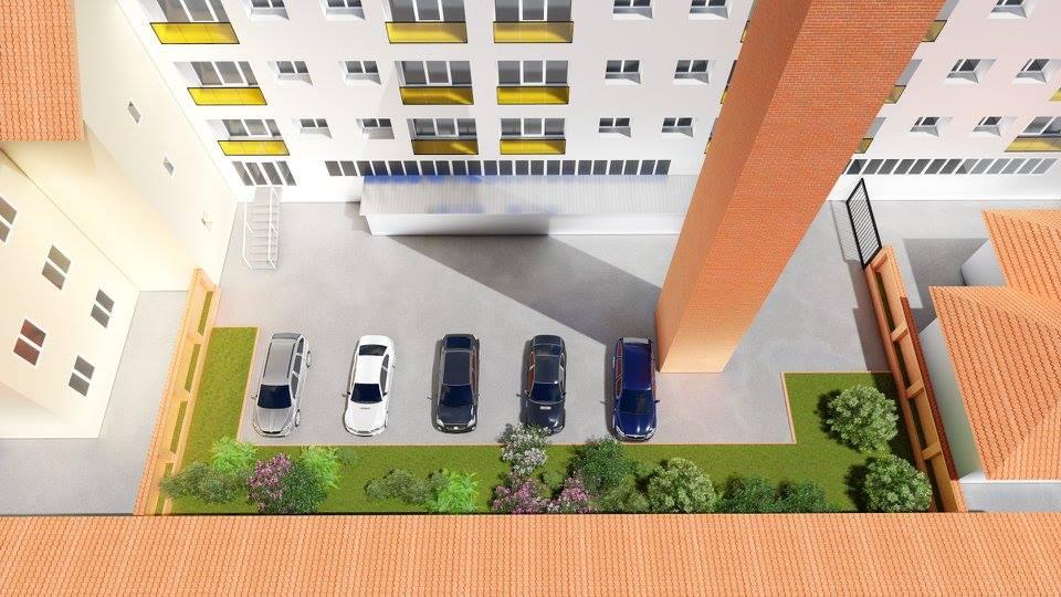 Az építészpár díjnyertes terve a megújuló Pepsi-ház udvaráról