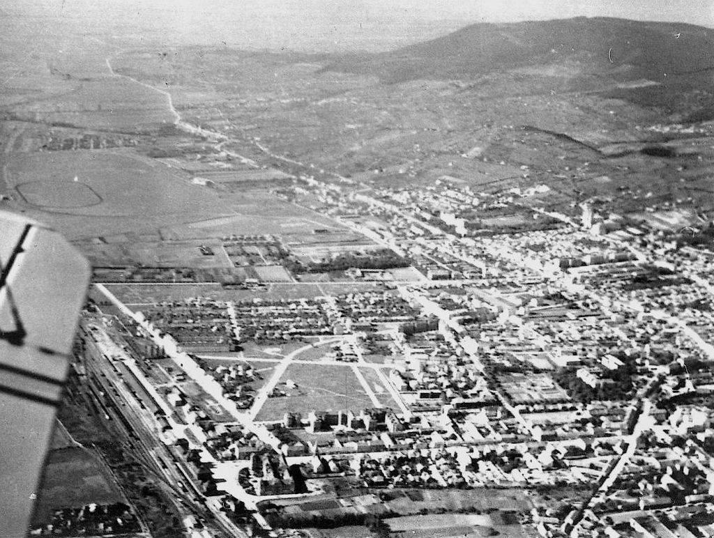 1938-ban így festett a levegőből Pécs