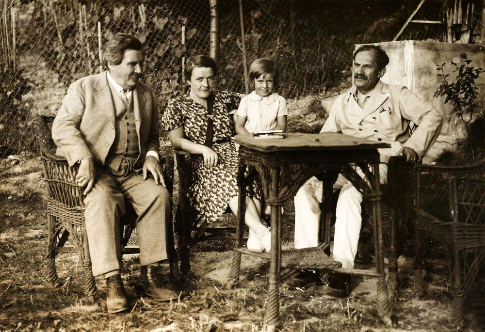 Móricz és Babits Mihály - nagy elmék, ha találkoznak Pécsett