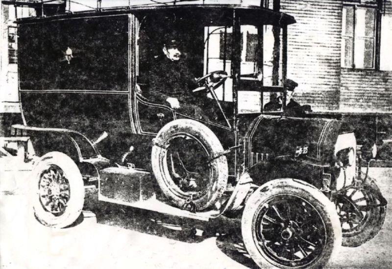 Az első postakocsi a Varga-gyárból