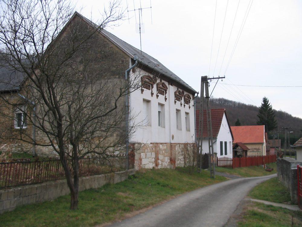 Husztóti falukép