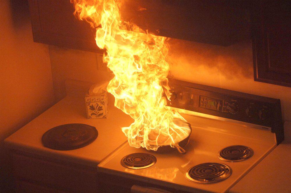 tűz otthon