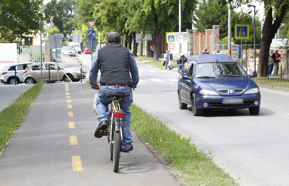 Kerékpárutak lesznek a városban, ameddig a szem ellát