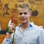 Pécsen fogadták az olimpikonokat