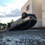 Elszabadult, sofőr nélküli autó rombolt Pécsen
