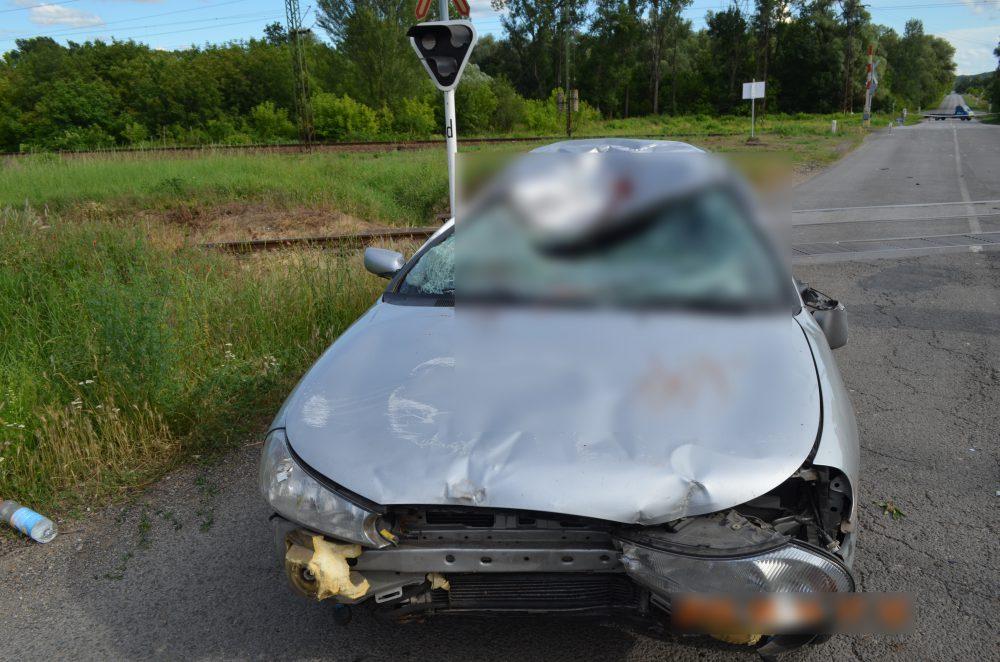 Ez maradt a kocsiból az eset után
