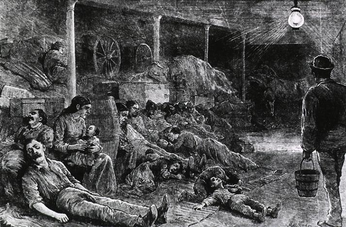 Haldokló kolerások