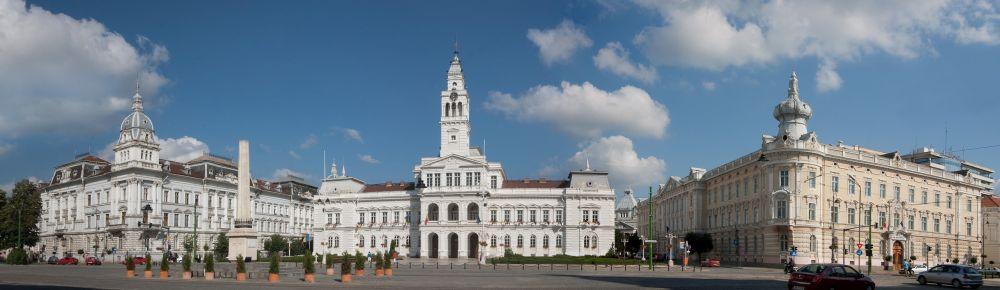 Palast der Kultur, Arad, Rumänien