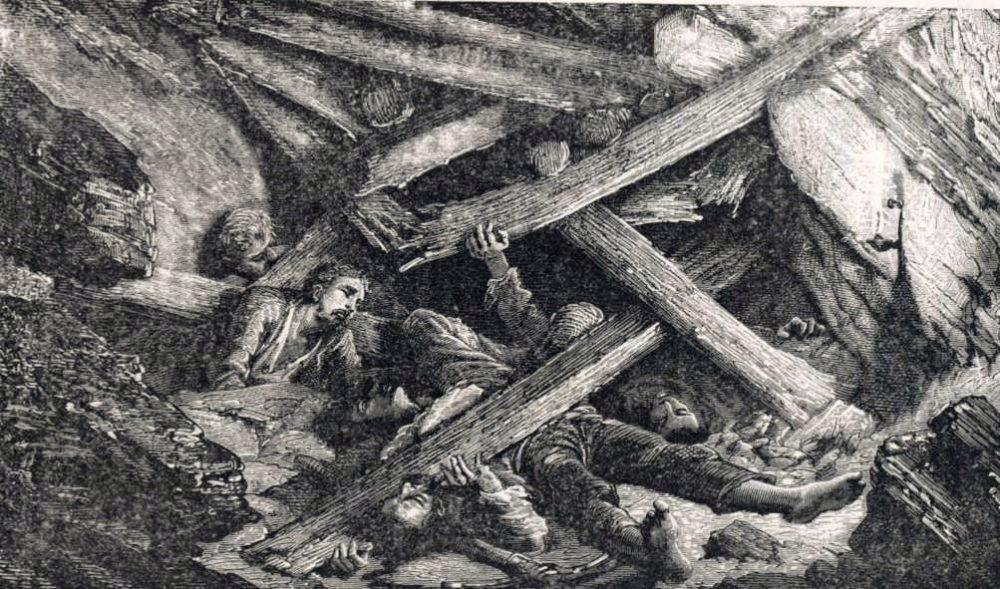 A bányaomlástól retteg minden bányász