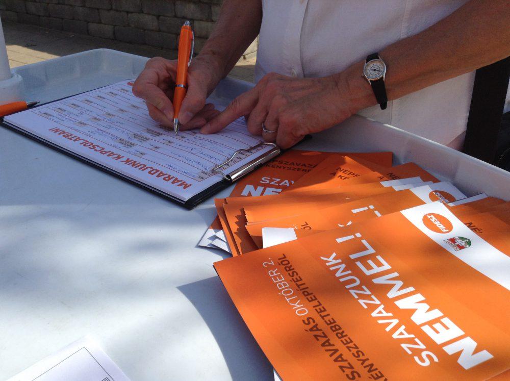 Gyűlnek az aláírások a legnépesebb városrészben