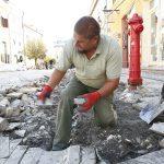 Javában zajlik a munka a Jókai téren