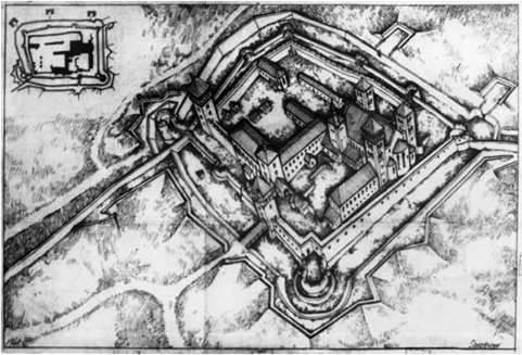 Gosztonyi Gyula 17. századi vár-rekonstrukciója