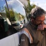 Hazatért a migránsok által megvert kamionsofőr