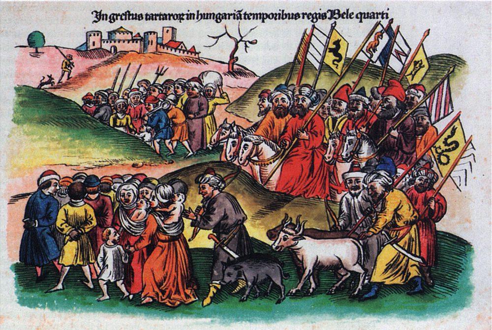 A tatár hódítás nem tűnt el nyomtalanul Pécsről sem