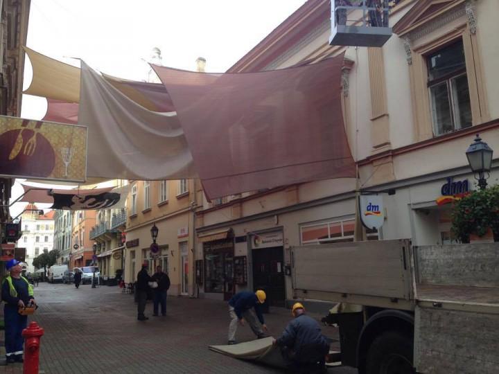 Pár nap alatt eltűnik a nyár Pécsről