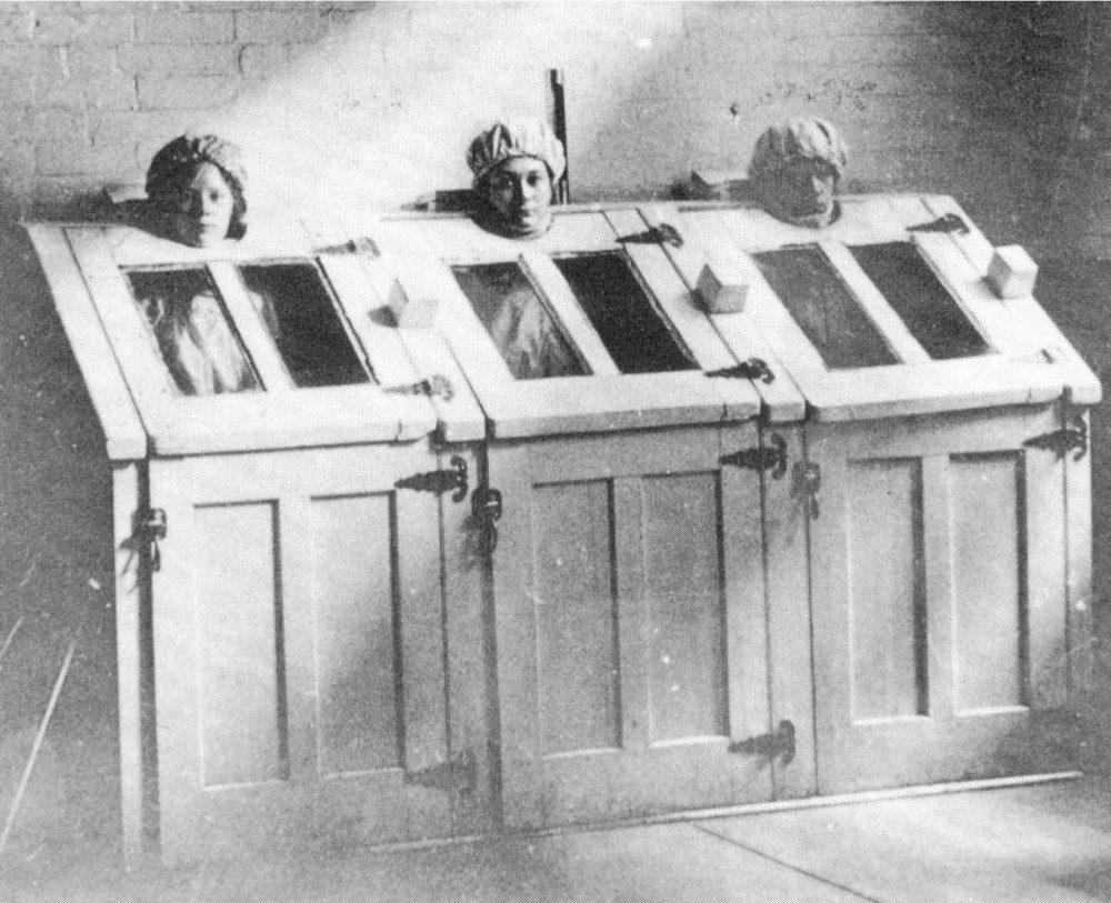 Amerikai klinikai megoldás az 1900-as évekből