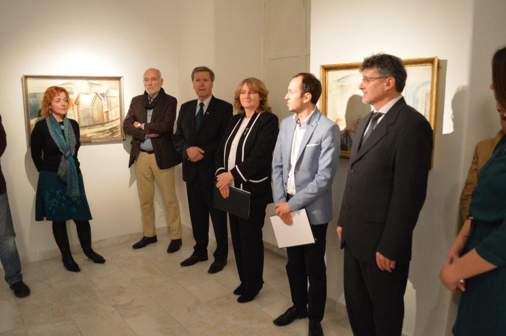 Az önkormányzat, a veszprémi- és a pécsi múzeum képviselői méltatták Egry művészetét