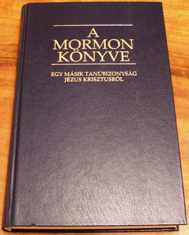 A Mormon Könyve, az ő Bibliájuk