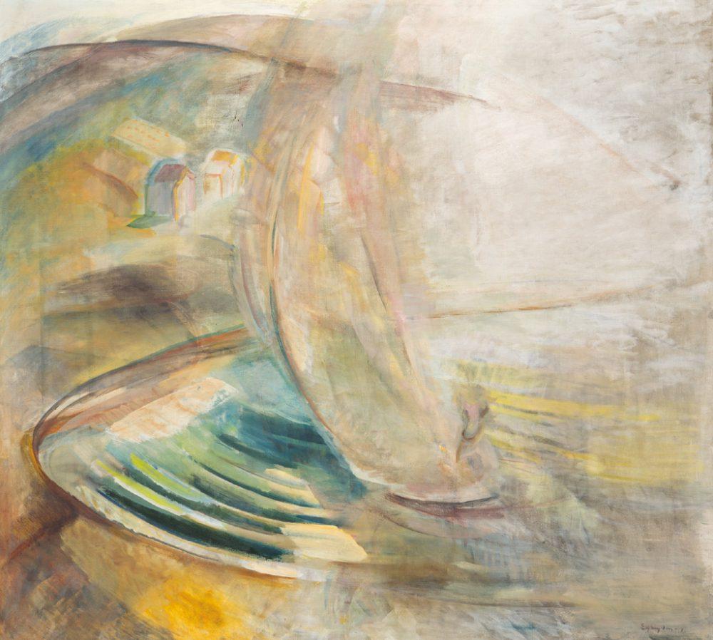 Egry József: Viharos öböl