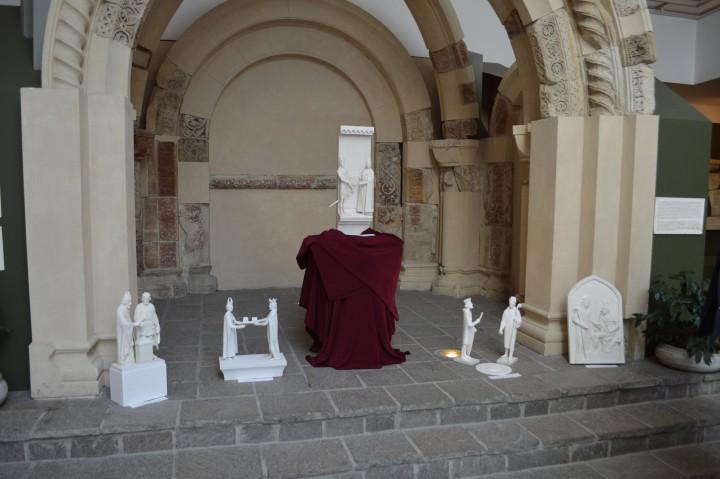 pte szobrok