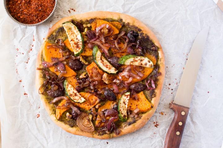 sütőtök, tök, recept, ősz, pizza