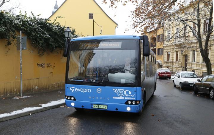 elektromos buszok, hl07